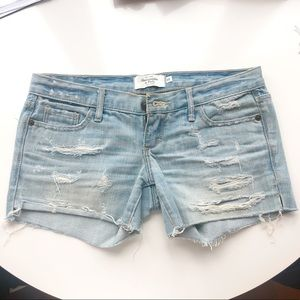 Abecrombie & Fitch jean shorts